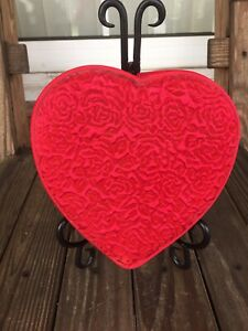 Godiva Heart Shaped Fabric Box