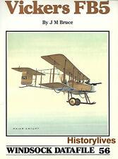 Windsock Datafile No.56 Vickers FB5 History 1/72 1/48 Drawings Markings Details
