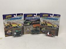 3pc 1/64 Johnny Lightning Frightning Wacky Winners - Muscle Cars  Lot