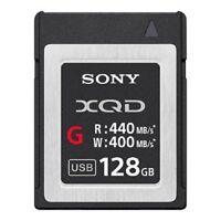 Sony QDG128E/J 128GB XQD E/G Series Memory Card 440MB/s #QDG128E/J
