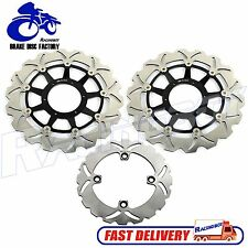 Full Set Front & Rear Brake Disc Rotor For Honda 00 01 CBR929RR 02 03 CBR954RR