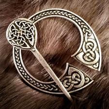Fenris Cloak Pin Brooch Penannular Silver Knotwork Celtic SCA LARP Viking