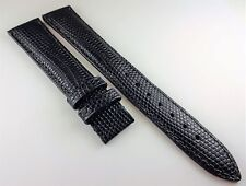 NOS AUTHENTIC HAMILTON GENUINE LEATHER WATCH BAND 18MM BLUE FOR DEPLOYMENT
