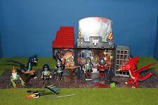 Playmobil 5420 caballero dragón caballero impecable Mega set