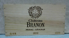 2012 CHATEAU BRANON WINE PANEL END
