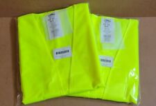 Lot Of 2 3m Condor Traffic Safety Vest Reflective Material Sz Medium 1yat8
