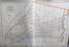 1888 BRONX NEW YORK WOODLAWN HEIGHTS SECTION ORIGINAL  E. ROBINSON ATLAS MAP