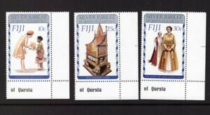 FIJI 1977 QEII Silver Jubilee set MNH mint stamps