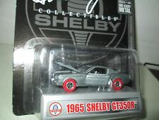 SHELBY COLLECTIBLES 1:64  RED WHEEL 1965 SHELBY GT350R  RAW CHASE