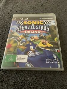 SONIC & SEGA ALL-STARS RACING - PS3 NEW COMPLETE