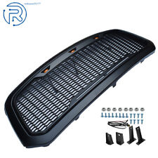 For 2013-2018 Dodge Ram 1500 Grille ABS Honeycomb Bumper Grill
