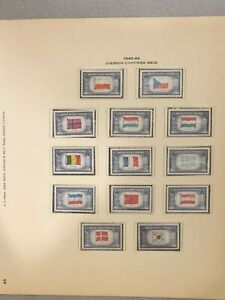 1943-1944 Overrun Countries Mint Condition