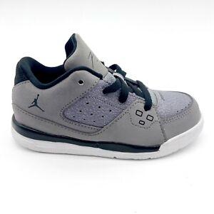 Jordan SC-1 Low (TD) Cement Grey Black White 599932 003 Toddler Size 9