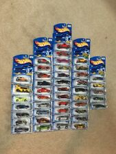 2002 HOT WHEELS Complete First Editions  Set LOT OF 44 TRUCKS CARS STREET RODS