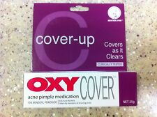 OXY Cover Acne Pimple Medication 10% Benzoyl Peroxide 25g Skin cover make up US