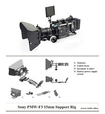 MOVCAM Sony PMW-F3 Camera Support Rig