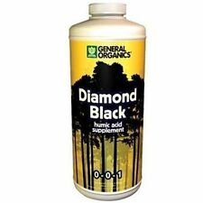 General Hydroponics Diamond Black 1 Quart qt 32oz - organic nutrient supplement