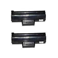 2 Black Toner Cartridge For Samsung Printer ML1865 ML1865W SCX3200 SCX3205