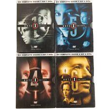 Akte X X-Files Seasons 1, 4, 5, 6 - Collectors Boxes German DVD