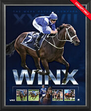Winx The Mare Beyond Compare Limited Edition Official Retirement Print Framed