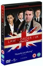 Law and Order UK Series 4 DVD 2011 Region 2