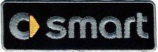 Toppa ricamata patch termoadesiva logo SMART cm.15 x 5