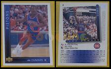 NBA UPPER DECK 1993/94 - Joe Dumars # 3 - Pistons - Ita/Eng - MINT