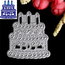 Cake Cutting Dies Stencil DIY Scrapbooking Album Paper Card Embossing Craft