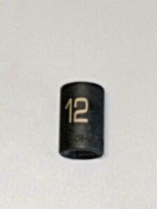 "MATCO Tools ""ADV"" #BP12M6V, 3/8"" Drive 12MM. Impact Socket, Shallow, 6Pt. *NEW*"