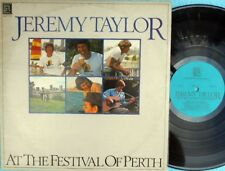 Jeremy Taylor ORIG OZ LP At festival of Perth NM '79 Grass Roots Folk