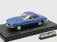 Autocult 1:43 BMW 1600ti Coupe Paul Bracq, blue,  Germany, 1969