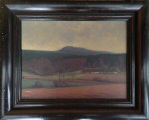 Helge Kemner (1883-1934): HILL LANDSCAPE