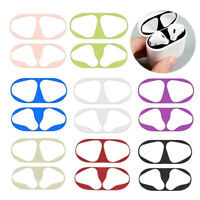 Metal Dustproof Protective Stickers For Apple Airpods 2 Earphone Dust Guard aa