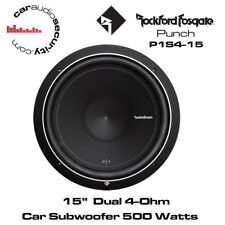 "Rockford Fosgate P1S4-15"" Punch SUBWOOFER 500 W Series"