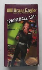 Paintball 101 (VHS Video, 1999) Brass Eagle - Fundamentals Of This Extreme Sport