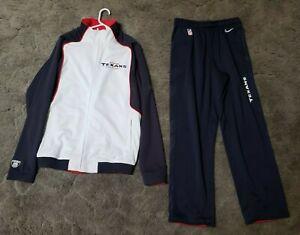 NFL Equipment Reebok Houston Texans Zipper jacket & Pants Men's Large