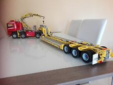 Lego Technic Trailer 8258 Solo ISTRUZIONI