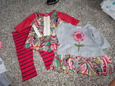 NEW NWOT BOUTIQUE MIMI & MAGGIE 6-9 FLORAL DRESS SET OF 2 AND LEGGINGS