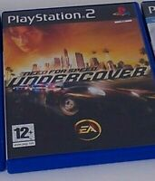 PS2 playstation 2 game need for speed undercover with manual