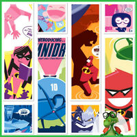 Topps Disney Collect - Incredibles Collection Poster Set no award * GDL