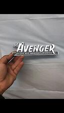 The Avenger ski boat Emblem (Original) (Pair)