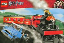 LEGO Harry Potter 4841 Hogwarts Express Treno Completo XLNT + RARO MINIFIGS
