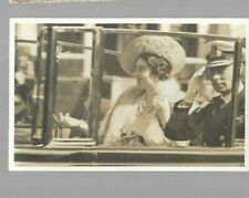 pk46494:Real Photo Postcard-King George VI & Elizabeth in Auto - Royal Visit
