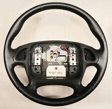 95-98 Firebird Trans Am Steering Wheel for Radio Controls LEATHER USED 02025