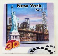 RARE View-Master NEW YORK NO. 2 (2013) - 3 reels A,B,C  - TD