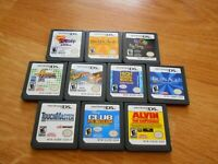 Nintendo ds game lot of 10 lite dsi xl 3ds 2ds