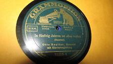 OTTO REUTTER GRAMMOPHONE 78 RPM RECORD 23359 DER GEWISSENHAFTE MAURER