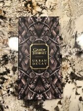 brand new urban decay x game of thrones palette