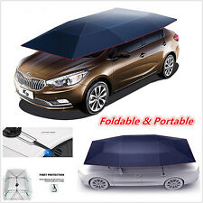 Semi-automatic Outdoor Auto Car Tent Umbrella Sunshade Roof Cover UV Protection