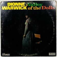 """Dionne Warwick """"Valley Of The Dolls"""" Soundtrack 1968 Sps-568 12"""" Lp Vinyl Record"""